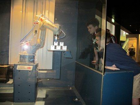 Powerhouse Museum Motoman Robot