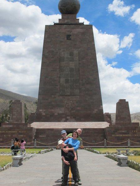 Mitad Del Mundo Equator Line