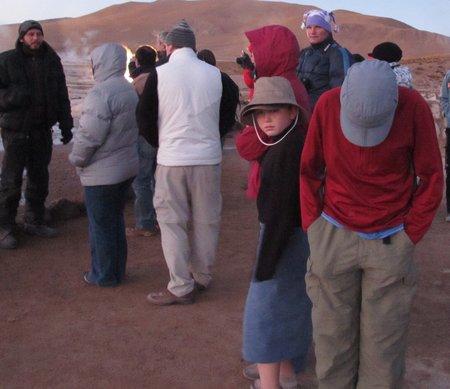 El Tatio Geyser Field Chile Cold
