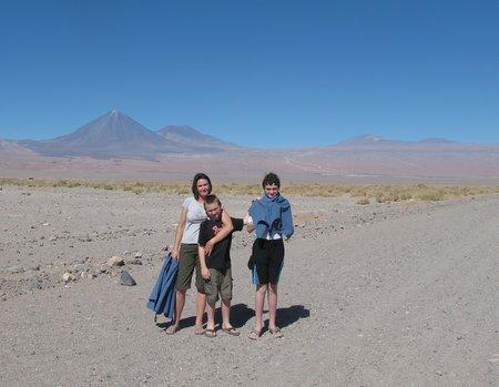 San Pedro De Atacama Chile Desert Walk
