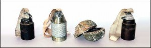 Cluster Bomb Sub-Munitions
