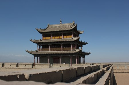 china-with-kids-jiayuguan-fort
