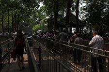 china-with-kids-leshan-big-buddha-queuing