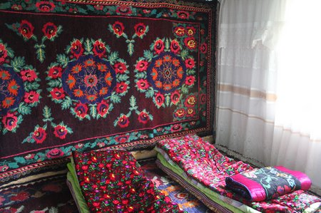 Krygyzstan-Sary-Tash-Homestay-Decor