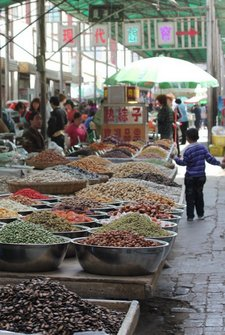 western-china-dunhuang-market