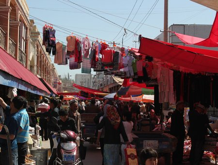 western-china-kashgar-sunday-market