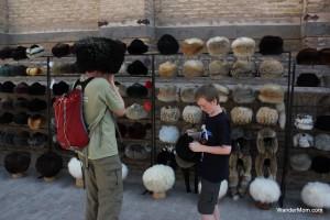 Khiva-Uzbekistan-Traditional-Hats