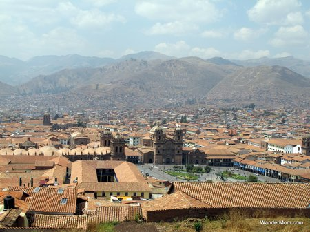 Peru-With-Kids-Cuzco-City-View