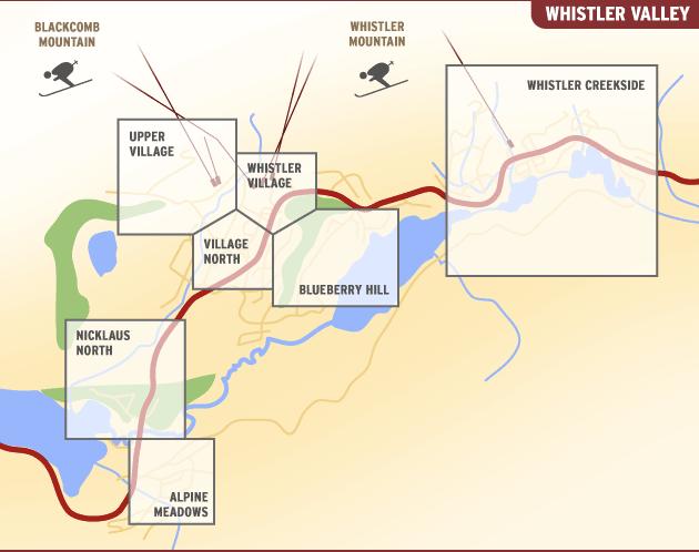 whistler-village-areas