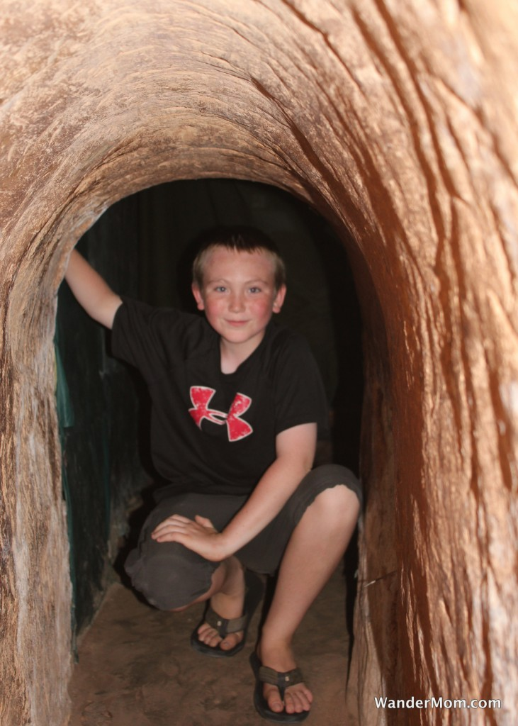 Saigon Vietnam Chu Chi Tunnels Vietnam with Kids