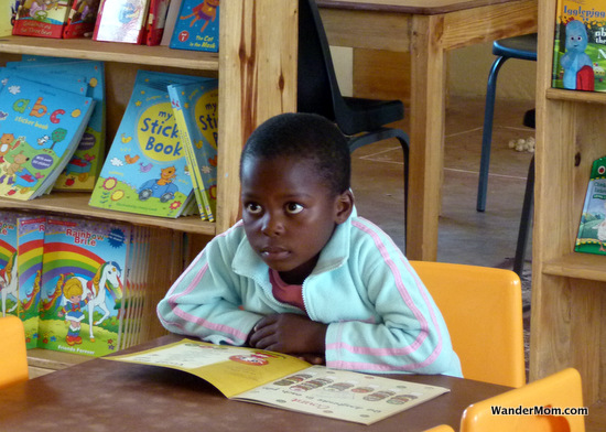 Zambia-Child-Reading