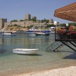 Bodrum Turkey Beach Restaurant Castle