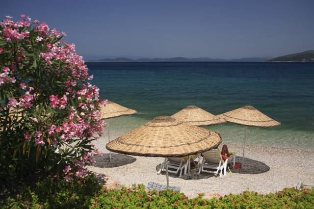 Bodrum Turkey Torba Beach