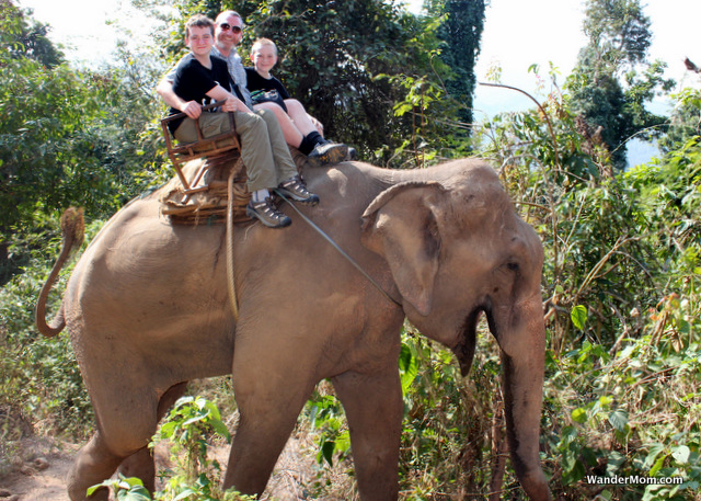 Thailand-Itinerary-Elephant-Riding